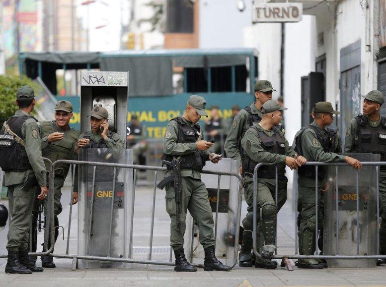 Venezuelan military quashes 'terrorist' attack at base, official says
