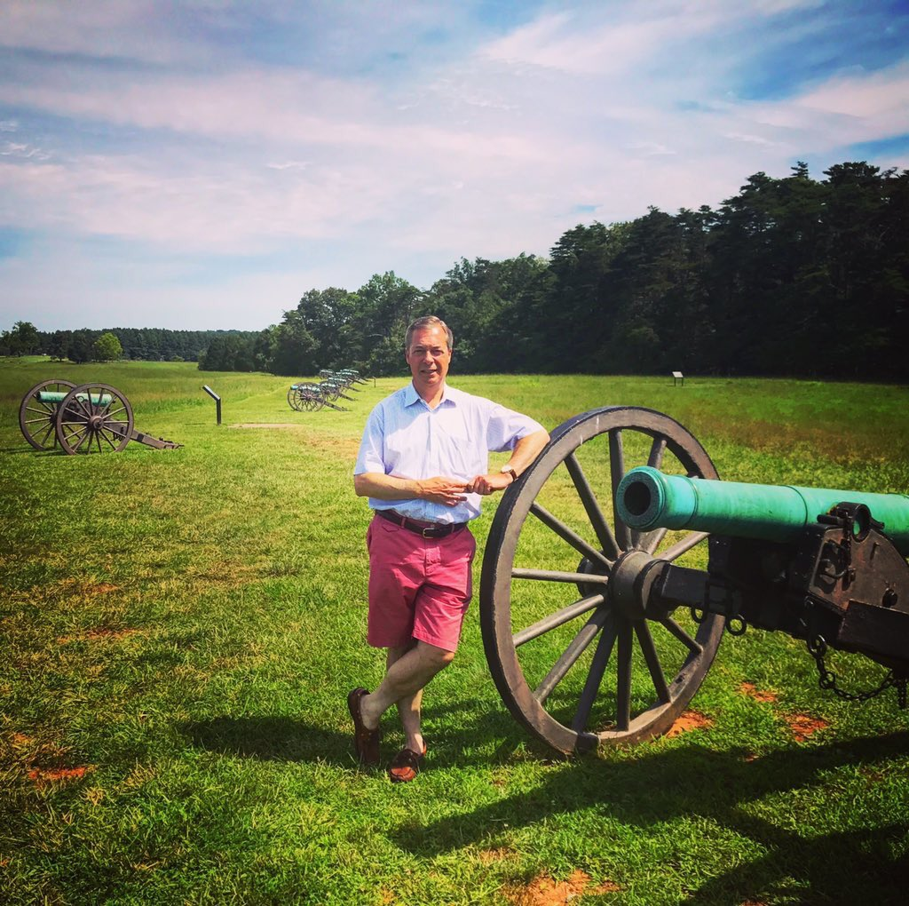 On a battlefield tour of the First Battle of Bull Run. https://t.co/LaiWjPfDGd