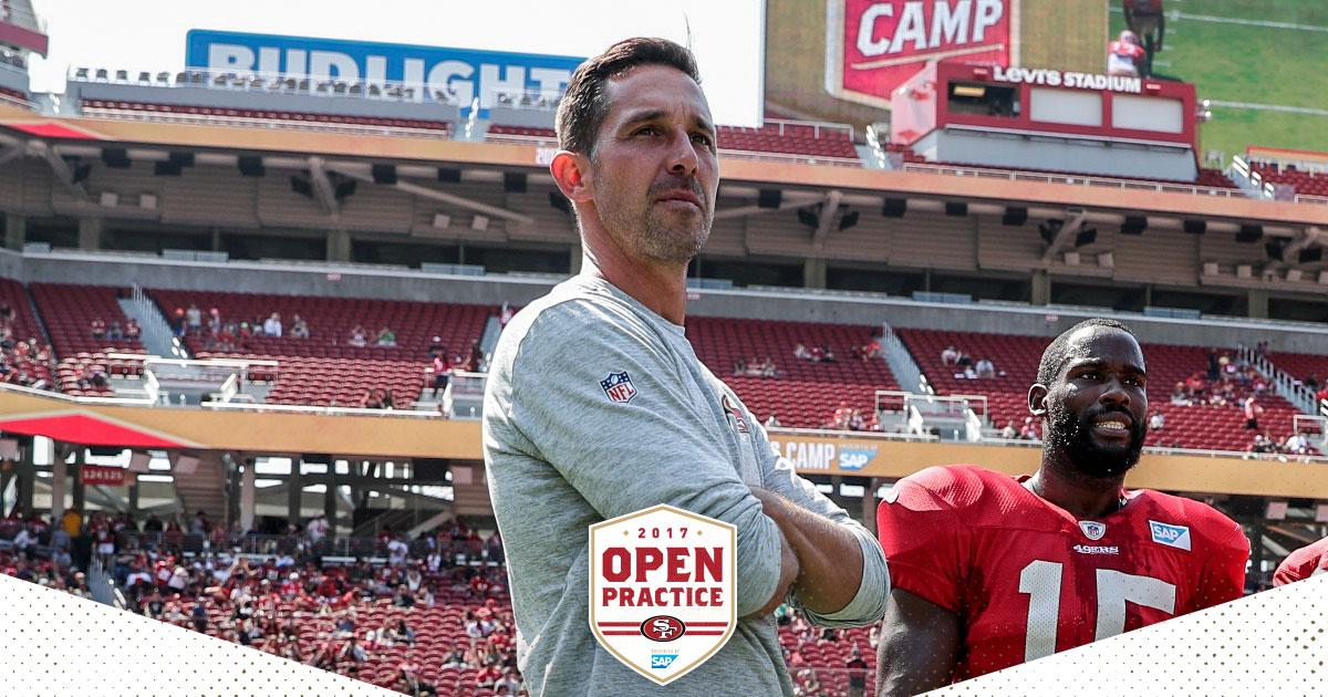 ICYMI, Kyle Shanahan on yesterday's Open Practice ��  https://t.co/eioHWxYKeo https://t.co/I6OmtokH1Y