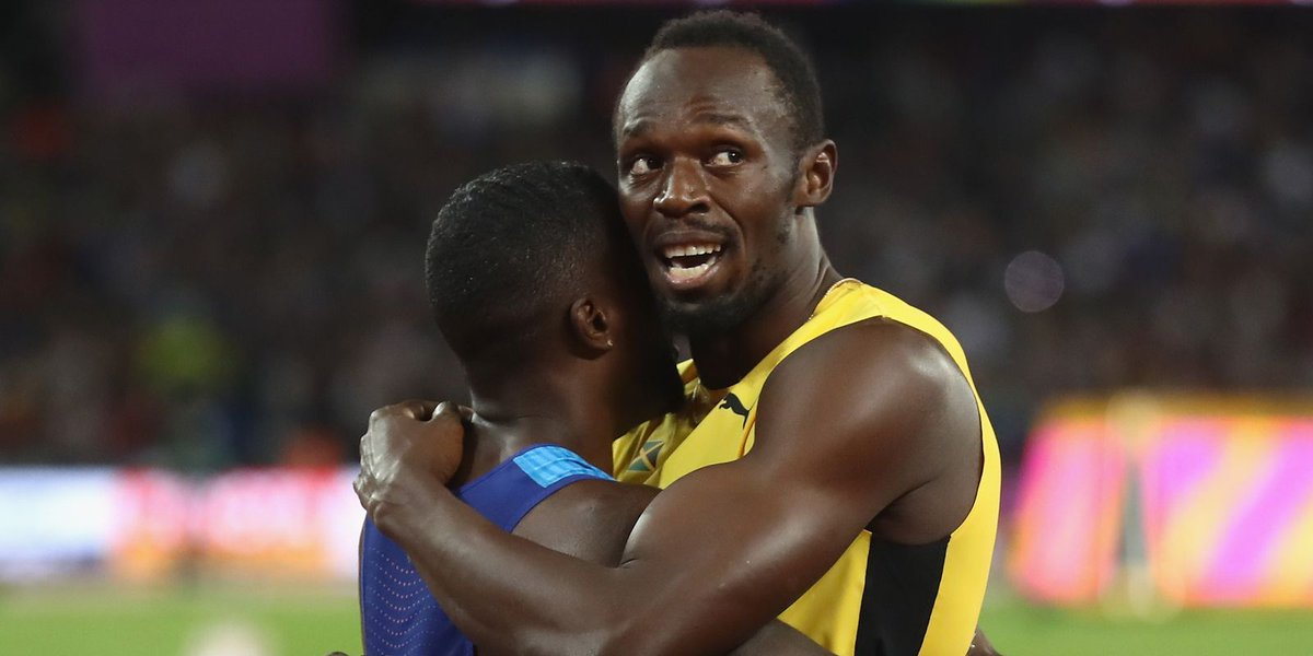 Gatlin spoils Bolt's 100 farewell; Notre Dame's Huddle takes eighth in 10,000
