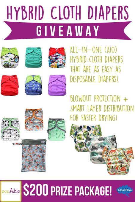 EcoAble Cloth Diaper Giveaway
