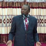 President Uhuru Kenyatta prays for peace ahead of the polls