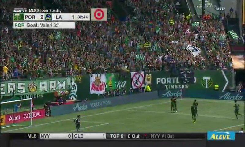 GOAL! @TimbersFC 2-1 @LAGalaxy - @DiegoDv8. #PORvLA https://t.co/f0nkTPktNr