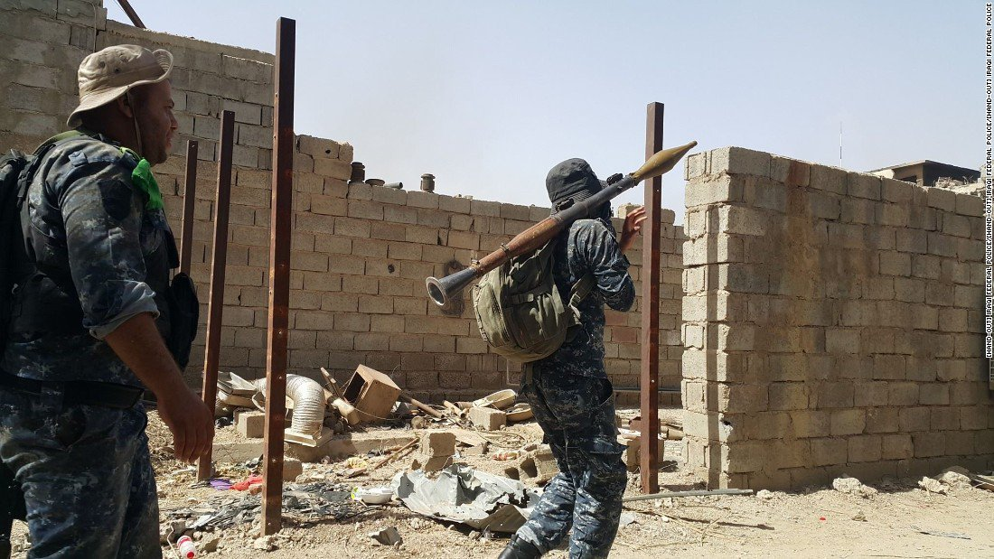 """Top US official: ISIS is shrinking but """"end stage"""" is some way off"""