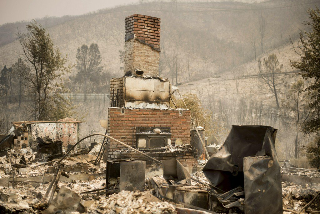 Gunfire caused California wildfire that destroyed 63 homes, investigators say