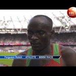 IAAF: Silver medalist, Boniface Mweresa, qualified