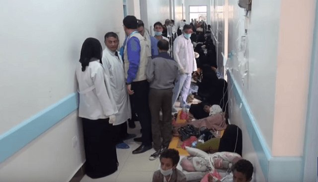 Saudis pledge $33.7 mln to UN to battle cholera in Yemen