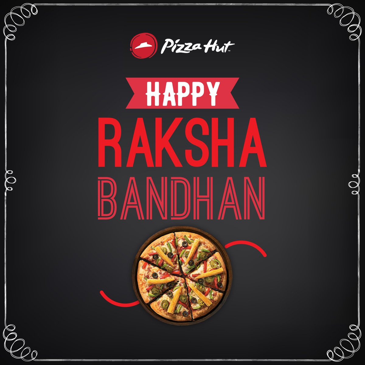 Happy RakshaBandhan to all the sisters and brothers who would love a pizza rakhi. Tag your sibling https t.co FKT2Lzf71w
