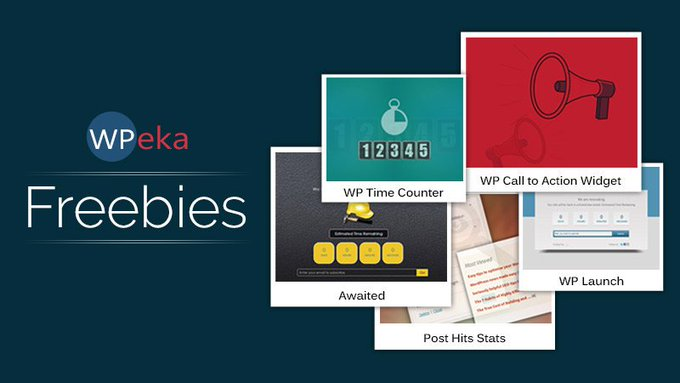 WPeka Free WordPress Products  Only for You  Giveaways Freebies Goodies