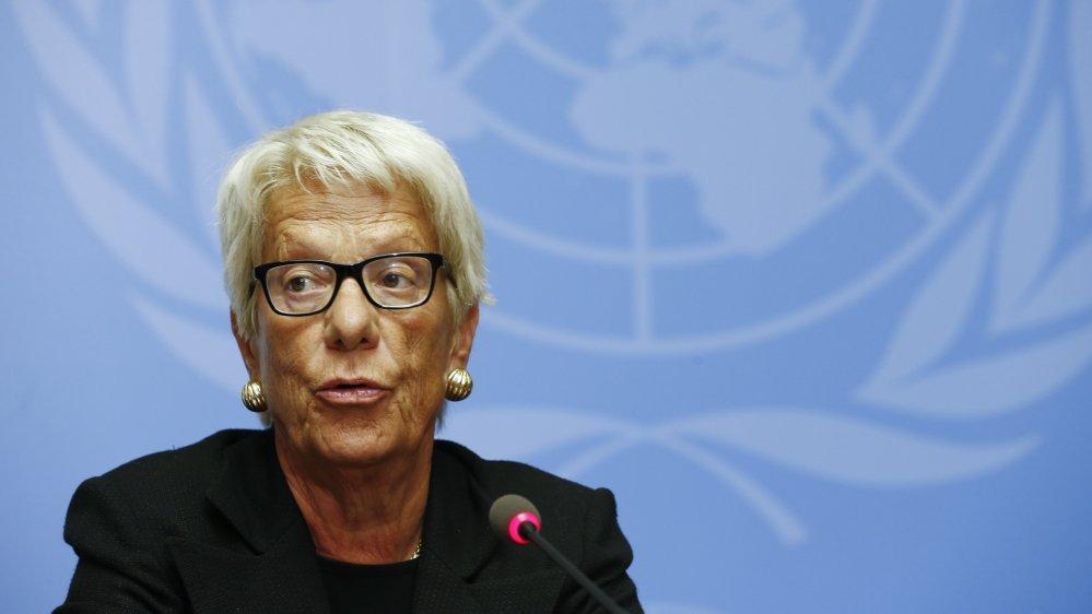 Veteran prosecutor Carla del Ponte to quit UN Syria human rights probe