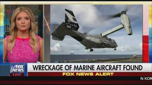 FOX NEWS ALERT: Wreckage of US military plane found, 3 Marines presumed dead https://t.co/sFuPjN7rhJ