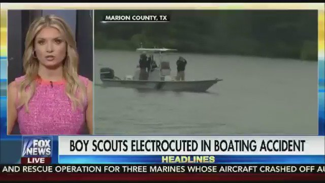 Texas Boy Scouts electrocuted after sailboat hits power lines https://t.co/Gjy0TlY7CH