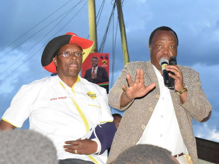 JP, independent candidates to faceoff for Ol Kalou MP