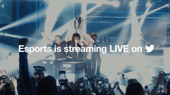 RT @TwitterGaming: Are you ready?  Esports and gaming are streaming LIVE on Twitter! https://t.co/pyaILgE4I5