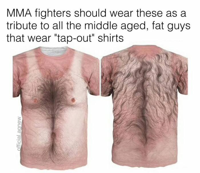 MMA Fighters Make A Bold Statement  https://t.co/f7wiif9Jgx  #mma #ufc #tshirt #funny https://t.co/fU3dwx5nHv