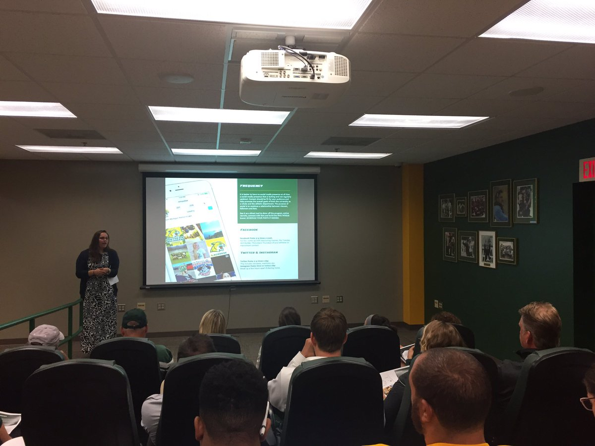test Twitter Media - Coaches social media training #NMUWildcats #shareNMU https://t.co/jCctFEAqNk
