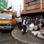 Travellers stuck in Nairobi as operators hike bus fare