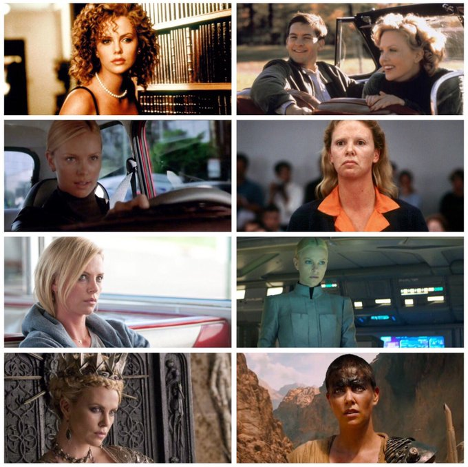 Happy birthday to Charlize Theron (b.1975)! Which of her performances is your favourite?