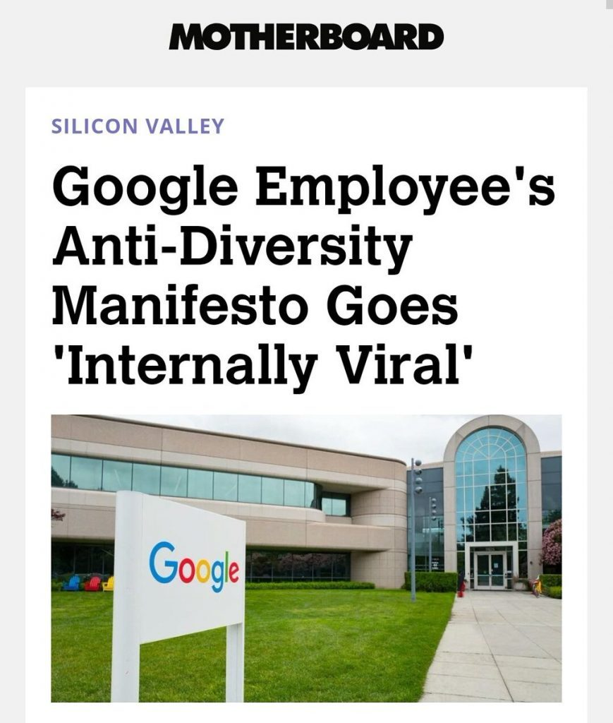#GoogleManifesto