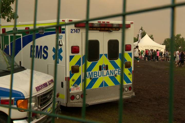 15 taken to hospital for substance abuse treatment from Calgary's Chasing Summer festival
