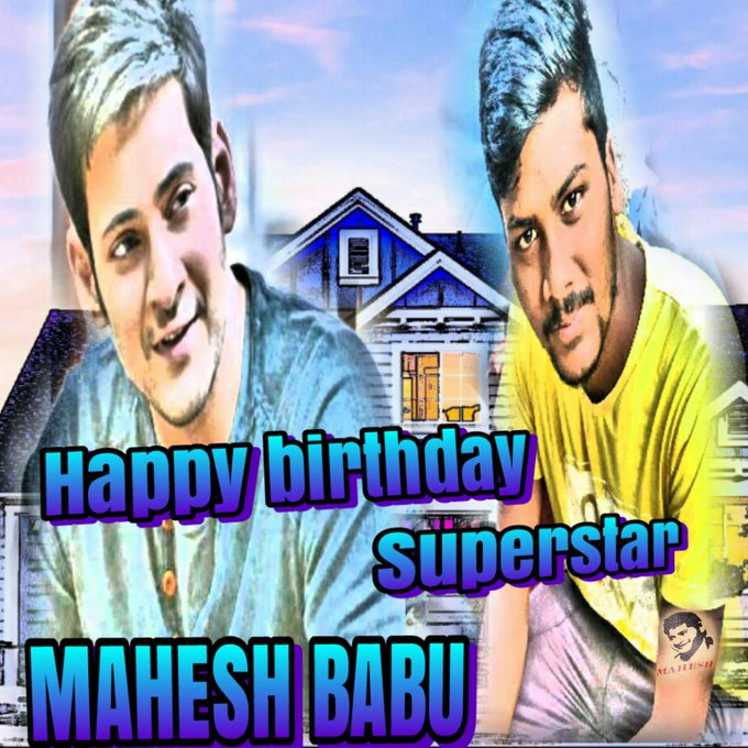 Happy birthday Superstar Mahesh Babu Anna