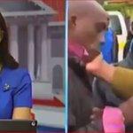 SLAPPED ON CAMERA: Kerugoya man received a blistering slap on a live TV broadcast