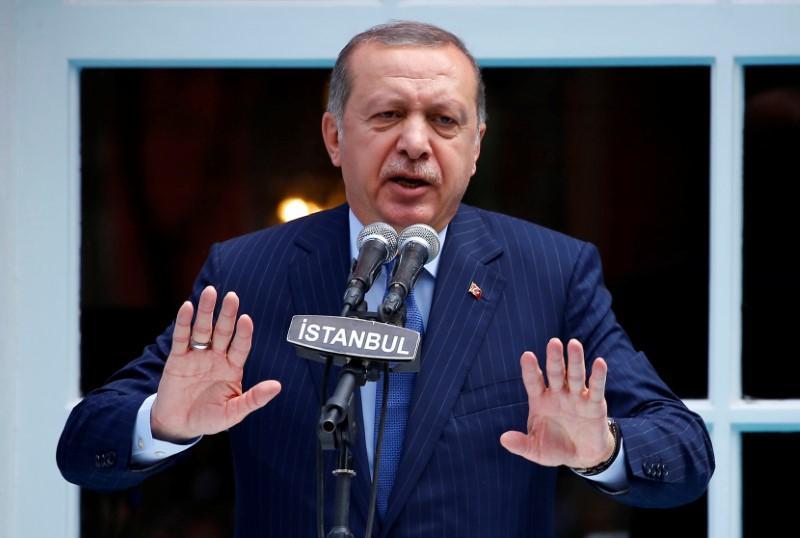 Turkey's Erdogan claims Germany abetting terrorists