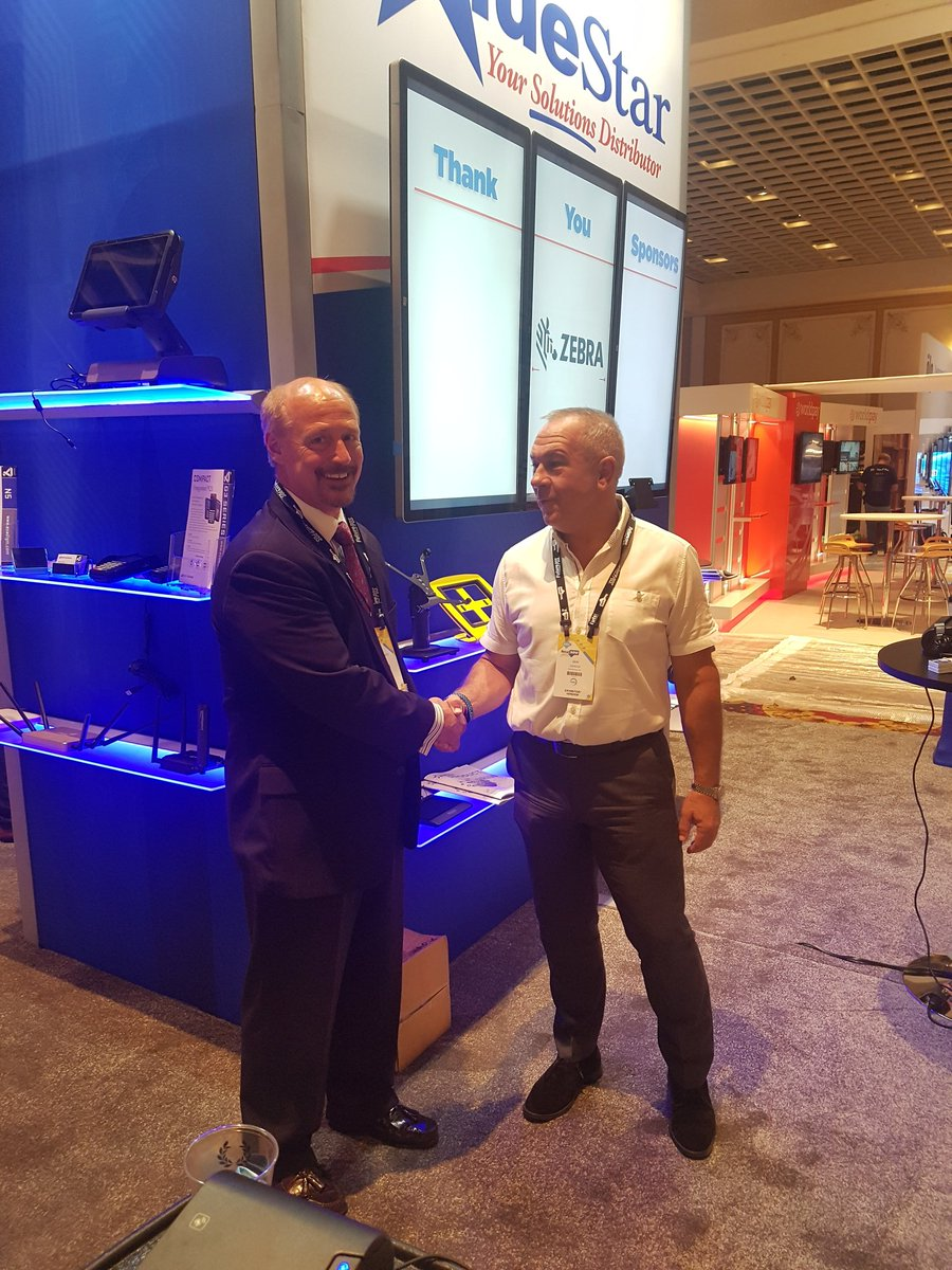 test Twitter Media - Delighted to announce distribution agreement between @SpacePole_Inc and @Think_BlueStar for North America signed at #retailnow2017 https://t.co/ralWwNNIU9