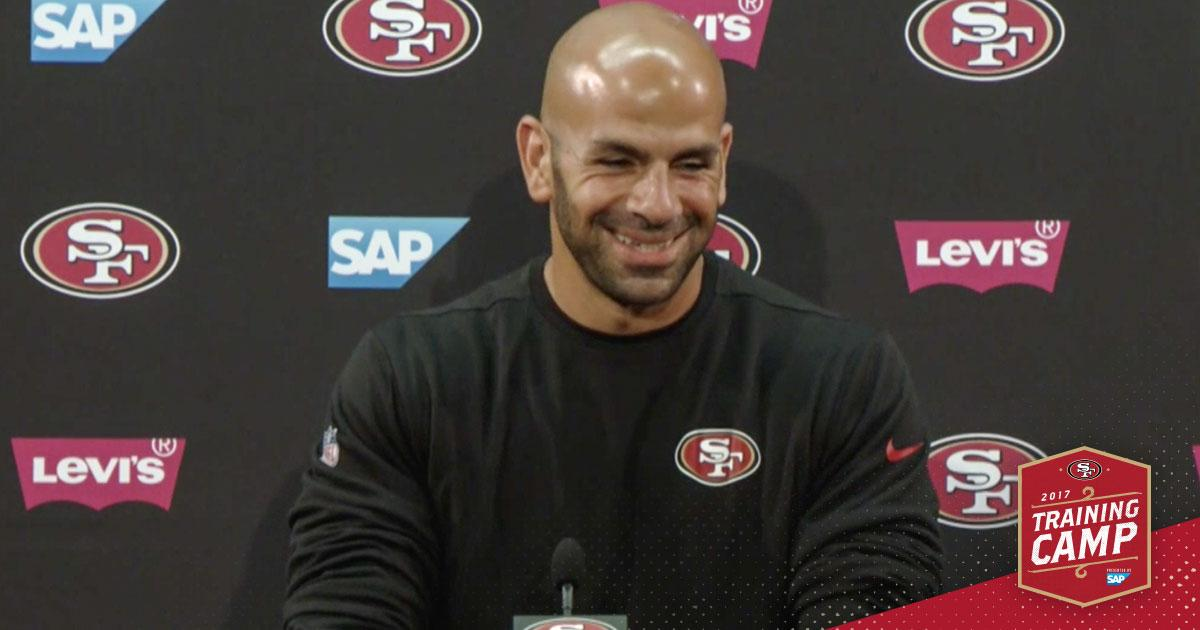 Robert Saleh can't wait to see the defense on Friday night. Anyone else? ����  https://t.co/cl2adHbFYp https://t.co/hmHugAcqdR