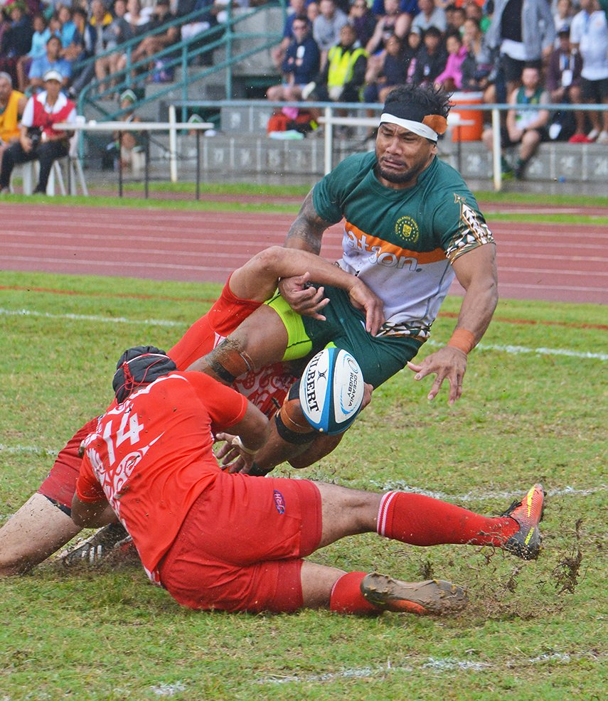 Rugby loss shock for Cook Islands