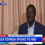 Presidential candidate Raila Odinga Speaks Out on Preparations for Kenya's Elections