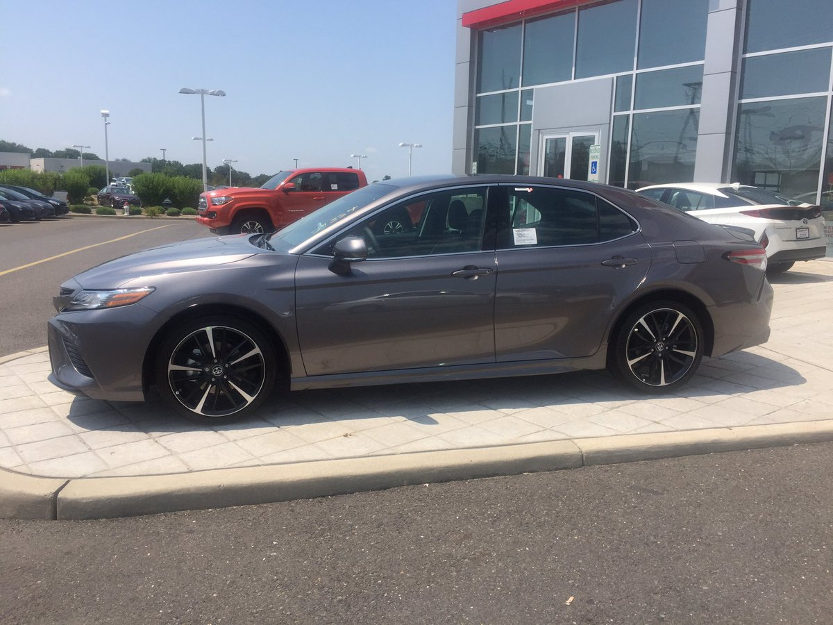 #AGoodDayIncludes receiving an all-new 2018 Toyota Camry XSE at Liberty Toyota 🏎👏👏 https://t.co/U4E4W9g5GD https://t.co/gan8hYLd8M