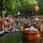 Dutch city turns orange as women toast Euro win