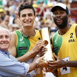 Brazil's Evandro and André Win FIVB Beach Volleyball World Title