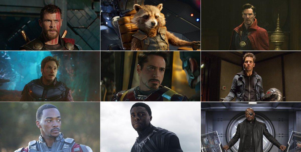 ヒゲキャラ集めてみました。スパイダーマン、キャプテン・アメリカ、ビジョン・・・ヒゲのないほうが少数派!?#ヒゲの日 #ア