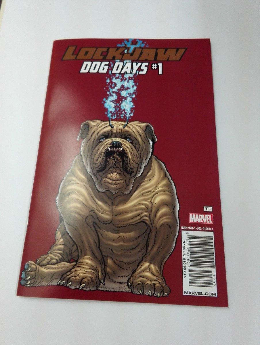 ロックジョーが活躍したエピソードを多数収録の一冊!LOCKJAW DOG DAYS TP(厚めのリーフです)今後ドラマシ