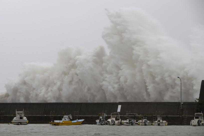 Now a tropical storm, Noru rakes Japan's main island