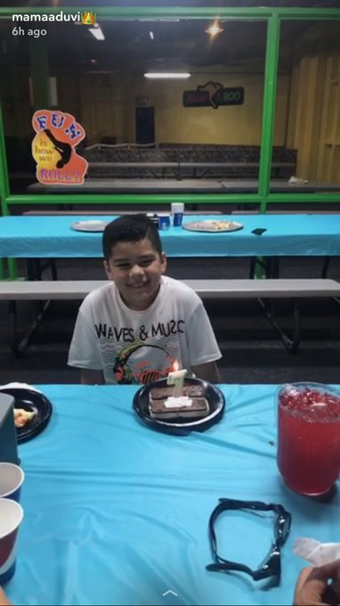 Happy 7th birthday to my big boy his smile in this video is everything