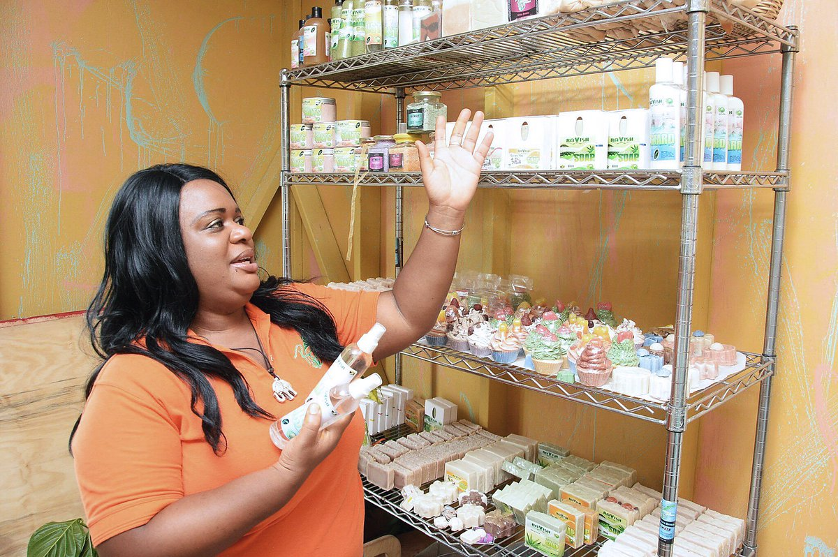 Yanique's Ravishing Natural Cosmetics ... Left her full-time job as a nurse to launch successful skin care brand