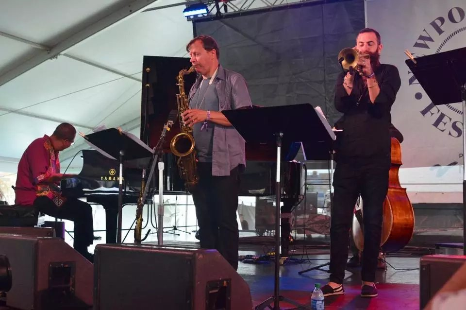History in the air at Newport Jazz Festival