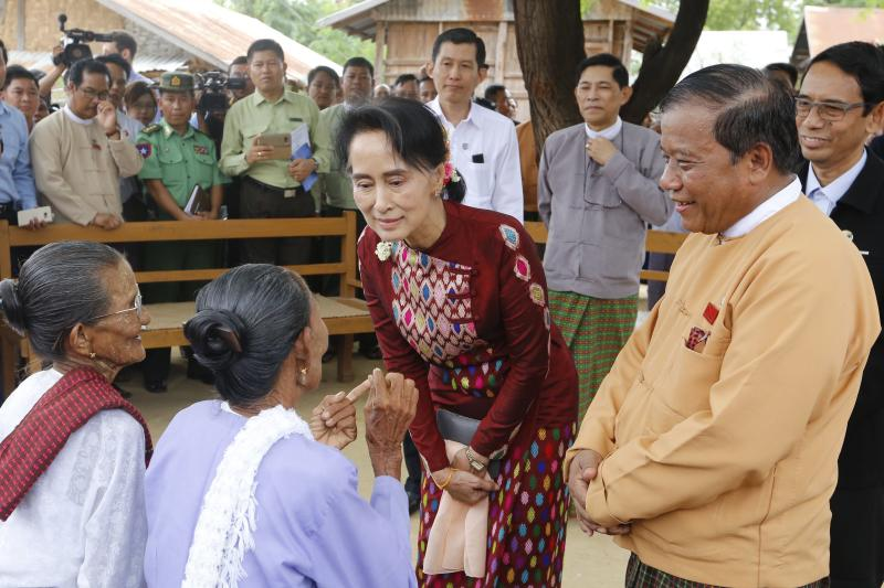 Aung San Suu Kyi turns to state media amid fears for Myanmar's newly gained freedoms