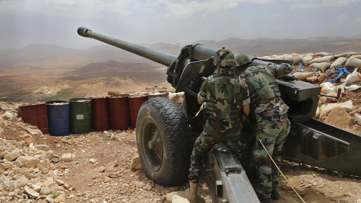 Lebanon's army prepares to clear border of ISIS militants