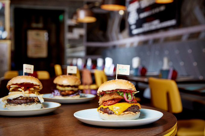 Free burger when order a drink  GBK app (account specific) GBK Freebie