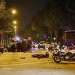 No way he could have escaped, says wife of biker killed in Woodlands accident