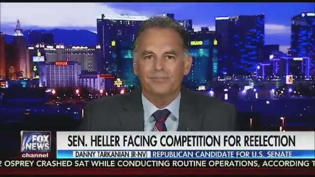 Exclusive: Danny Tarkanian announces his Senate run against incumbent Sen. Dean Heller (R-NV) https://t.co/BbTth0ZQ7F