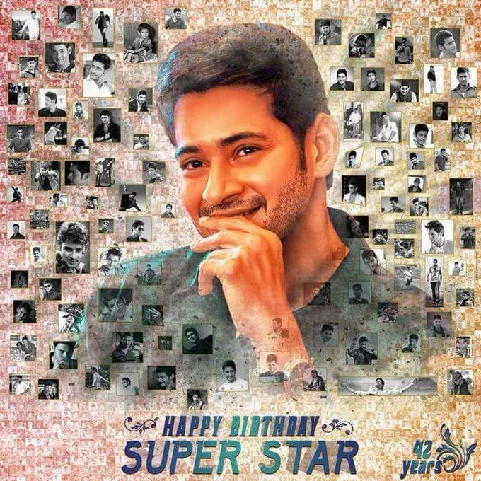Happy BIRTHDAY to super star mahesh babu       Jai mb annaya
