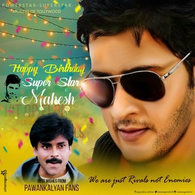 Happy Birthday Mahesh babu garu. Handsome hunk of tollywood film industry