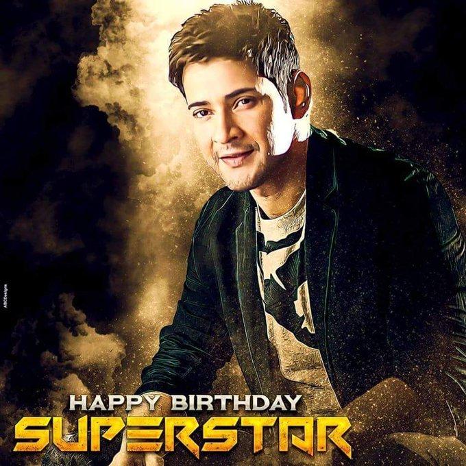 Happy birthday Super star Mahesh babu garu in Advance.... Still More to come