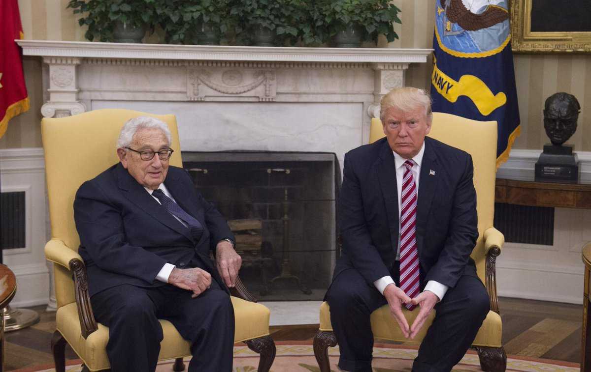Kissinger warns Trump that Iran must not replace ISIS in Iraq and Syria