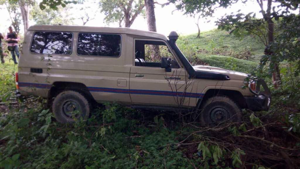 RT @ReporteYa: #8Ago Campo Carabobo, Toyota donde huyó grupo con armas de Fuerte Paramacay. Hallaron cargadores AK https://t.co/xA2RVggXSW…